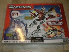 NEO MACHINES 2-IN-1 Mega Bloks 6400 NEW in open box Free Shipping!