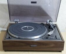 Classic 1970s Pioneer PL-12D MK2 Stereo Turntable with a Shure M75ED cartridge