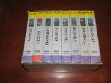I GRANDI PAESI D'EUROPA // VIVIVIDEO VIDEO VISITS  8VHS NEW