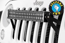 Jeep JK, JKU, Wrangler, 20 inch LED light bar grille mounting brackets,FREE SHIP