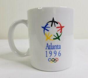 Atlanta Summer Olympics 1996 White Coffee Tea Mug