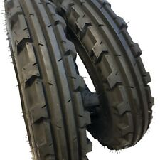 750 16 2 Tires 2 Tubes 8 Ply Road Crew Knk 30 Farm Tractor 750x16