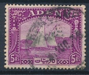 [56085] Aden 1937 Very good Used Very Fine stamp $180