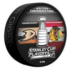 2015 Stanley Cup Playoffs Anaheim Ducks Chicago Blackhawks Western Dueling Puck