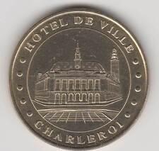 -- 2000 COIN TOKEN JETON MONNAIE DE PARIS- BELGIQUE N°4 HOTEL DE VILLE CHARLEROI