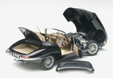 1:18 AUTOart Jaguar E-Type Roadster Series 1 3.8 black schwarz NEU NEW
