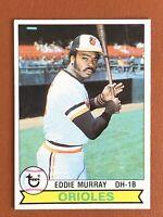 1979 Topps Eddie Murray 2nd Yr Card #640 NM/MINT - Orioles HOF
