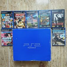 Consola Fat Playstation 2 Tekken 5 Grand Theft Auto Ps2 En Caja Pal España