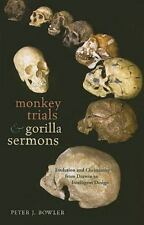 Monkey Trials and Gorilla Sermons: Evolution and Christianity from-ExLibrary