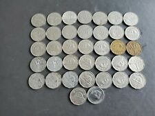 Canada 1922-1959 5 Cents Canadian Nickels Coins - Great Starter 1925 Included