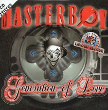 ★☆★ CD Single  MASTERBOY	Generation of Love - Edition limitée MEGA MIX   ★☆★
