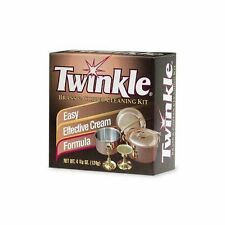 Twinkle Brass & Copper Cleaner / Polish Kit 4 3/8oz New
