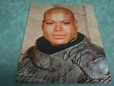 "ORIGINAL AUTOGRAPH ""CHRISTOPHER JUDGE"" SIGNED STARGATE SG-1 8X10 PHOTO"