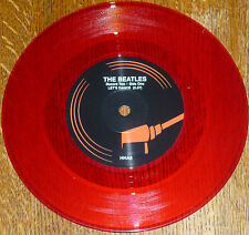 "* * RARE BEATLES UK-ONLY RED VINYL ""LET'S DANCE/YA YA"" 45: A MERE 2000 PRESSED!!"