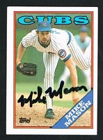 Mike Mason #87 signed autograph auto 1988 Topps Baseball Trading Card