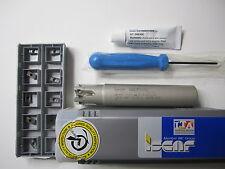 "ISCAR FACE MILL 3/4"" DIAMETER HELIPLUS HP E90AN-D.75-5-C.75-7C MILL"
