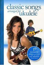 Ukulele CLASSIC SONGS Music Book Learn To Play POP JAZZ SWING SONGS