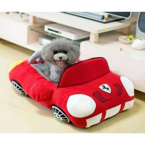 Cool Pet Dog Bed Fashion Car Shape Cat Nest Soft Puppy House Warm Cushion Sofa