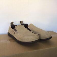 Mens Tan Canvas Crocs Size Men 7