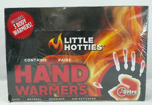 Little Hotties Hand Warmers 40 Pairs In Sealed Carton With Bonus 3 Body Warmers