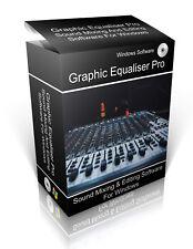 Graphic Equaliser Pro: Editing Software For Windows Vista 7, 8, 10 & Mac OS-X