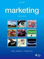 Marketing by Baines, Paul, Fill, Chris | Book | second hand