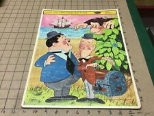 vintage FRAME TRAY Puzzle: 1967 LAUREL AND HARDY