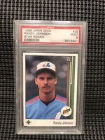 1989 Upper Deck Randy Johnson Star Rookie #25 PSA 9 MINT