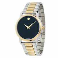 Movado 2100016 Men's Museum Two-tone Quartz Watch