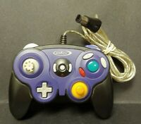 Nintendo Gamecube Intec Video Game Purple Black Controller Works Tested