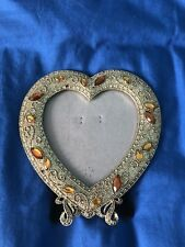 White Hanging Heart Shaped Large Photo Frame Multi Picture Love Frames Gift 6x4