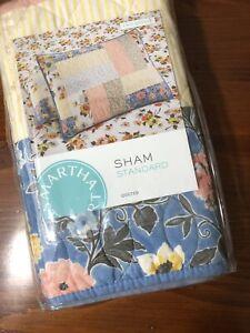 Martha Stewart Quilted Fair Breeze Pillow Sham in Standard Size