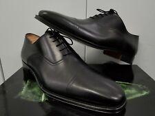 Magnanni  Alpin Cap Toe Oxfords - Black Leather - Size: 12M