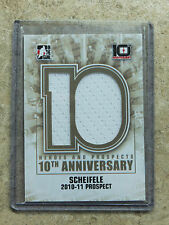 13-14 ITG H&P Heroes Prospects 10th Anniversary Jersey #AP-51 MARK SCHEIFELE /60