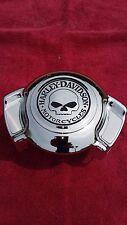 """Custom Harley-Davidson  Willie G. Skull AIR WING  Horn Cover! """"NEW""""""""""""'"""