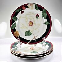Tienshan Magnolia Salad Plates (Set of 4) - New