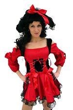 Kostüm Sexy Piratin ROTE KORSARIN Piratenbraut GR. 40 M