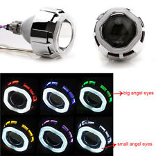 2.5'' Car Bi-Xenon HID Projector Lens Kit HI/LOW Light with Angel Eyes and Bulb