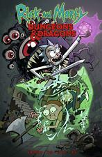 Rick and Morty vs. Dungeons & Dragons 4 Issue Box Set