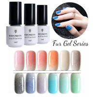 5ml Nagellack Fell Effekt Gellack Soak Off UV Gel Winter Lack Neu Born Pretty