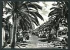 Finale Ligure ( Savona ) : Hotel Moroni - cartolina viaggiata nel 1957