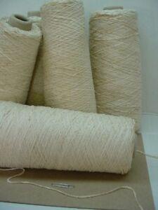 Buff  2010 ypp Rayon Chenille Yarn 5 Cones ~ 3.65 lbs