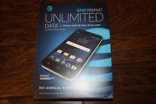 """Brand New AT&T Alcatel CAMEOX  4G LTE 5"""" 16GB  Quad Core GSM Smart Arctic White"""