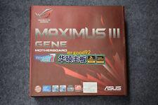 NEW Asus MAXIMUS III GENE M3G Motherboard ROG P55 Mainboard LGA 1156 Boxed