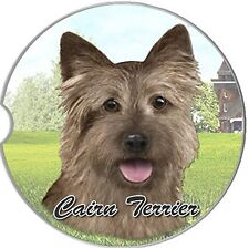 Cairn Terrier Car Coaster Absorbent Keep Cup Holder Dry New Stoneware
