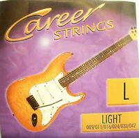 Career Strings E-Gitarren-Saiten Light 009-042