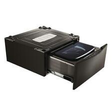 New Open Box 29 in. 1.0 cu. ft. SideKick Pedestal Washer Black Ss Wd205Ck