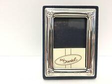 Bomboniera comunione battesimo bimbo portafoto blu in argento 925