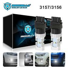 New listing 3157 3156 Led Brake Fog Turn Signal Light Bulbs 6000K White 2000Lm Super Bright