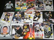 lot of 15 different SIDNEY CROSBY cards PITTSBURGH PENGUINS TEAM CANADA lot #2 $